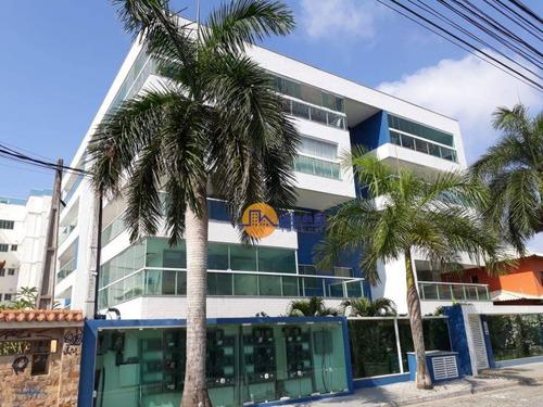 Lindo Apartamento Com 2 Dormitórios À Venda, 81 M² Por R$ 398.050,00 - Costazul - Rio Das Ostras/rj - Ap0309