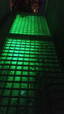 Fabricamos Paredes De Bloques De Vidrio Con Iluminacion.