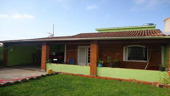 Casa Em Bopiranga, Itanhaém/sp De 160m² 2 Quartos À Venda Por R$ 180.000,00 - Ca585711