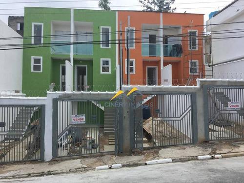 Sobrado Com 2 Dormitórios À Venda, 65 M² Por R$ 275.000,00 - Vila Nancy - São Paulo/sp - So0040