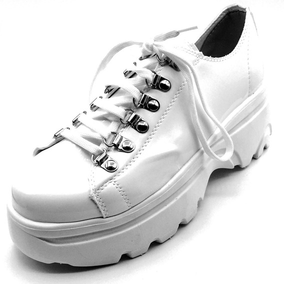 Zapatillas Mujer Sneakers Blancas Urbanas Balenciaga Moda