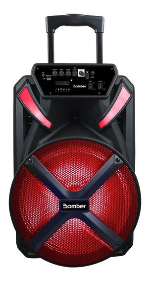 Caixa De Som Bluetooth Bomber Papao 600 15 Polegadas 300rms