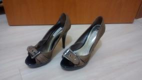 Sapato Salto Alto Marca Bottero Novo Tamanho 35