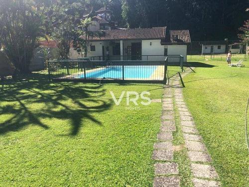 Casa Com 2 Dormitórios À Venda, 76 M² Por R$ 385.000,00 - Bom Retiro - Teresópolis/rj - Ca0322