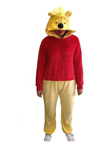 Mameluco Disfraz Adulto Bordado Pooh Disney