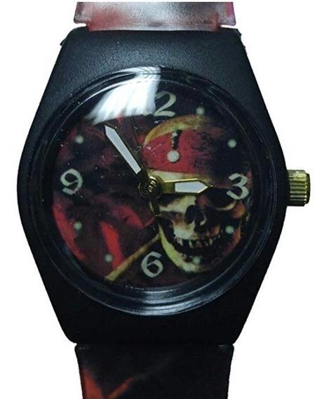 Reloj Disney Piratas Del Caribe Original