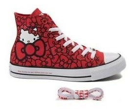 Zapatos Converse Original Hello Kitty Envios Gratis