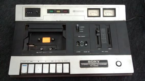 Tape Deck Sony Tc-118sd No Estado Sem Garantia