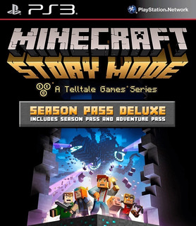 Minecraft Story Mode Season Pass Deluxe Ps3 Español Gcp