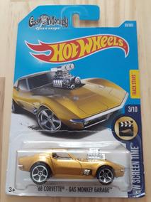 Hot Wheels - Screen Time - 68 Corvette Gas Monkey - 3/10