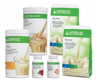 Kit 2 Shakes 2 Nutrev Chá Verde Nrg Herbalife Frete Grátis