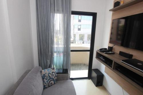 Imagem 1 de 18 de Apartamento Com 01 Dormitórios E 35 M² A Venda No Moema, São Paulo   Sp. - Ap3307v