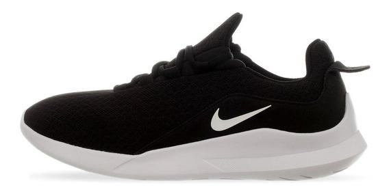 Tenis Nike Viale Negro/blanco Caballero Running Aa2181-002