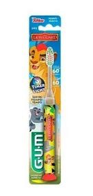 Escova Dental Light Guarda Do Leao Laranja Gum