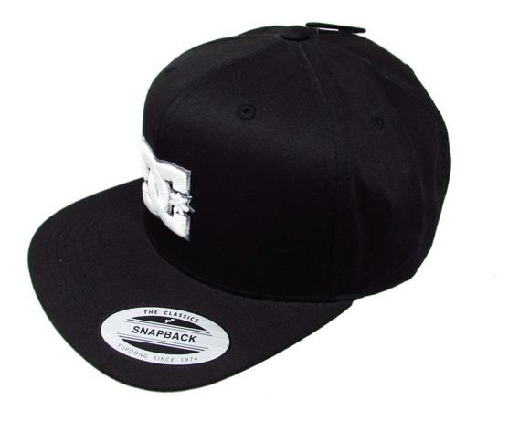 Gorra Cap Dc Shoes Dyha00058 Kvj0 Black Negro Snapback
