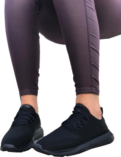 Tenis Zapatillas Comodas Livianas De Tela Dama, Mujer