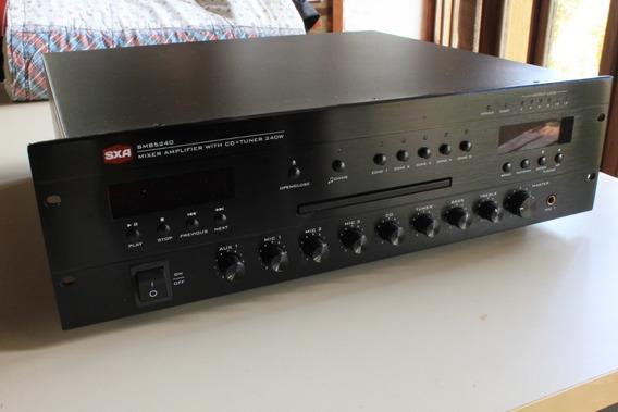 Amplificador Receiver Multiuso Sxa Smb5240 (som Ambiente)