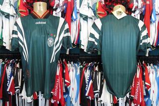 Alemanha 1996 Camisa Reserva Tamanho G.