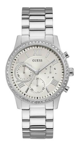 Relógio Feminino Guess Prateado 92686l0gdna4 Original C/ Nf