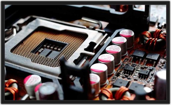 Quadro Decorativo Pc Game Placa Mae Informatica Decorção