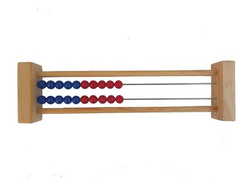 Imagen 1 de 2 de Ingeniacrea: 6 Pzas Rekenrek Ábaco De Dos Líneas C/envio
