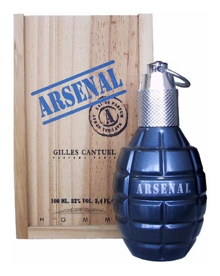 Perfume Arsenal Blue Edp 100ml Original Com Selo E Nf