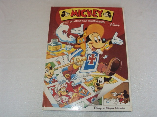 Mickey En La Epoca De Los Tres Mosqueteros Libro Disney T D