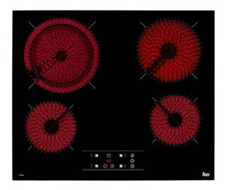Parrilla eléctrica Teka TT 6420 Total glass black 220V