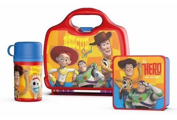 Kit Toy Story Lonchera + Tupper + Taza + Cantimplora