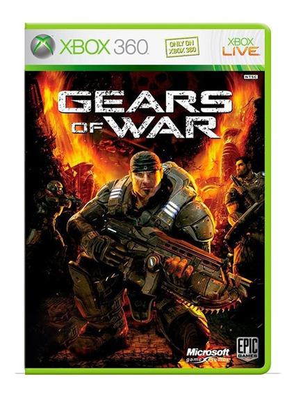 Gears Of War 1 - Xbox 360 - Usado - Original