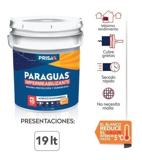 Impermeabilizante Paraguas 10 Años 19 L
