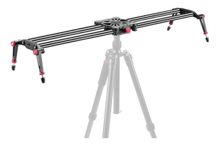 Slider 100cm Fluido Fibra De Carbono Cámara Dslr Video Msi