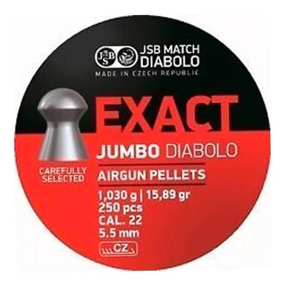 Diabolos Exact Jumbo Jsb Match Calibre .22 5.5 250 Pzs