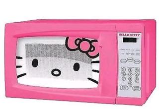 Horno De Microondas Hello Kitty 0.7 Pies Cúbicos 700 Vatios