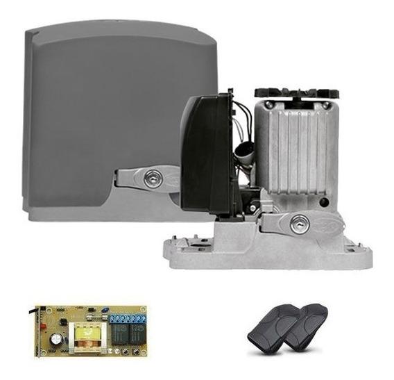 Motor De Portão Eletrônico Ppa 1/4hp Dz Rio + 2 Controles