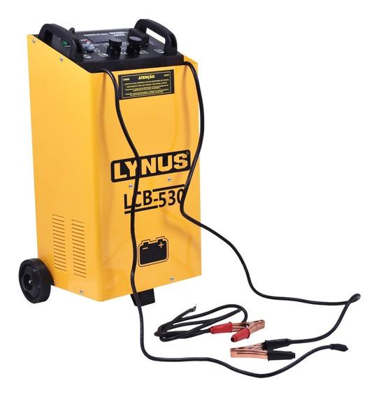 Carregador Bateria Veicular 75 Amp 12/24v Lcb-530 Lynus-220v