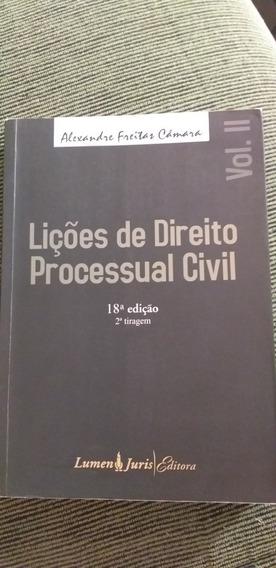 Lições De Direito Processual Civil Vol 2 - 2010 -alexandre F