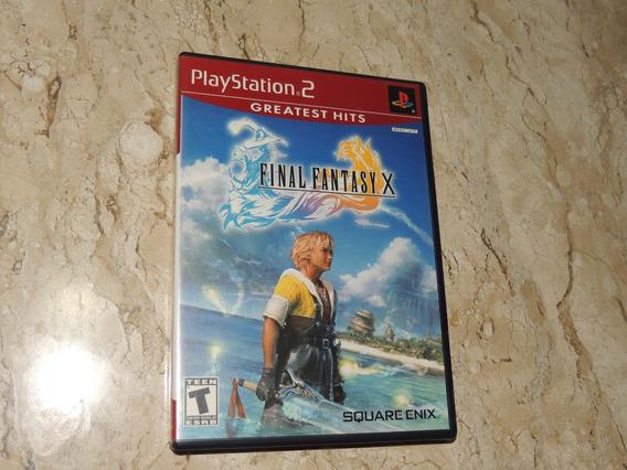 Final Fantasy X Playstation 2 Ps2 Original Americano