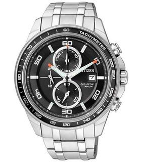 Reloj Citizen Ca0340-55e Supertitanium Crono Agente Oficial