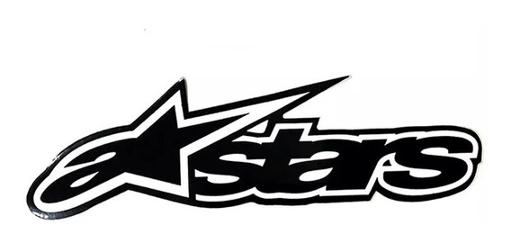 Calcos Alpinestars Vinilo Sticker Motos