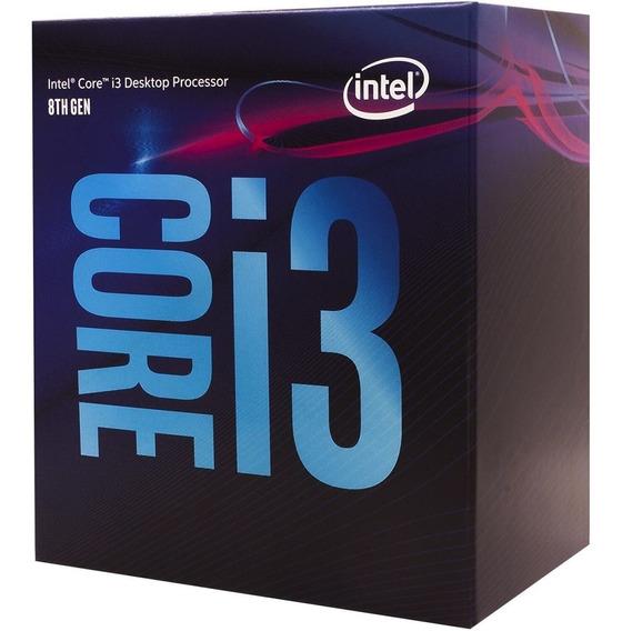 Processador Intel 1151 Core I3 8100 3.60ghz 6mb (8ª Geração)