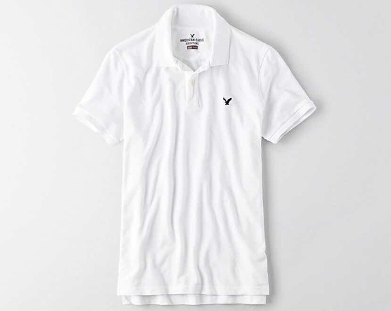 Playera Polo - American Eagle - Original