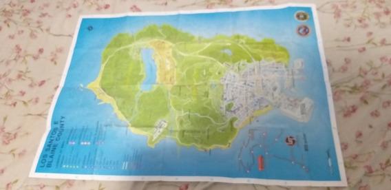Mapa Do Jogo Gta 5