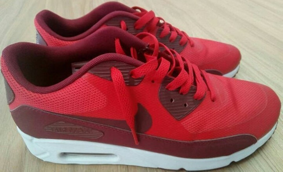 Tênis Nike Air Max 90 Ultra 2.0 Essencial Vermelho Masculino