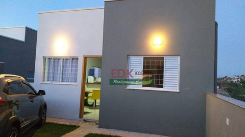 Imagem 1 de 7 de Casa Com 2 Dormitórios Para Alugar, 55 M² Por R$ 1.500,00/mês - Jardim Dulce - Guararema/sp - Ca6397