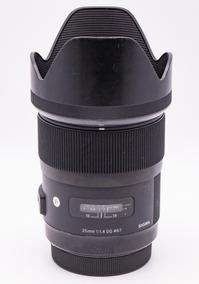 Lente Sigma Art 35mm F/1.4 Para Canon