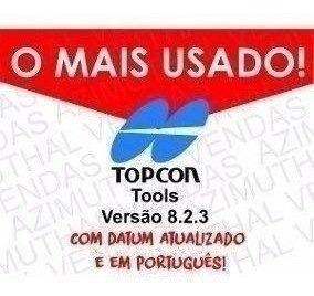 Topcon Tools 8.2.3 Em Português - Topografia Completo