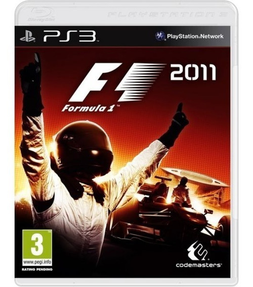 Formula 1 F1 2011 - Mídia Física / Ps3