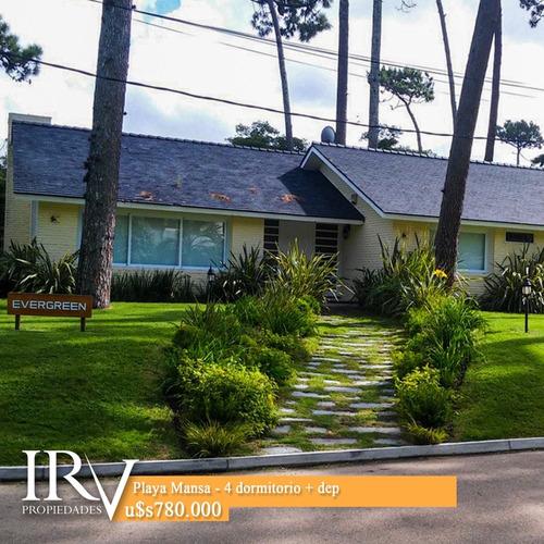 Casa A Nuevo En Playa Mansa - Punta Del Este