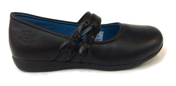 Zapatos Escolares Paul Frank Niñas - Pfsk16304k - Black